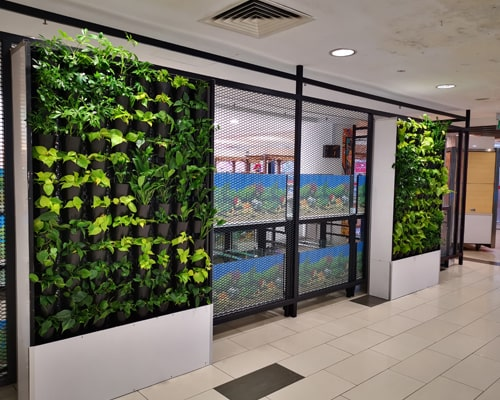 mobile vertical gardens